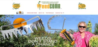 Weed Comb website banner