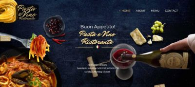Italian Restaurand food photography