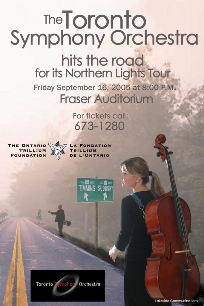 Toronto Symphony Orchestra Tours Northern Ontario